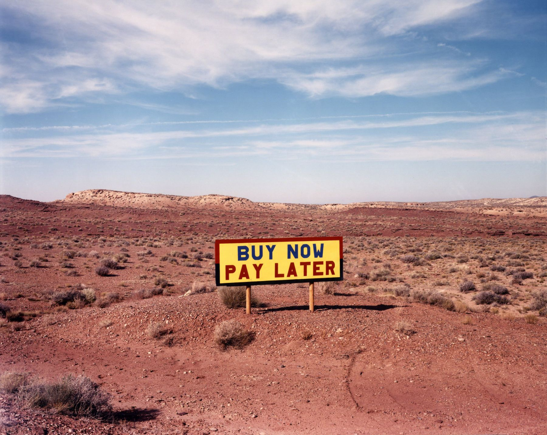 David Graham, Route 64 West of Route 89, AZ, 1986 © Laurence Miller Gallery