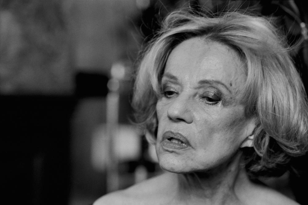 Jeanne Moreau,  Paris, 2003 Courtesy of Peter Lindbergh, Paris © Peter Lindbergh