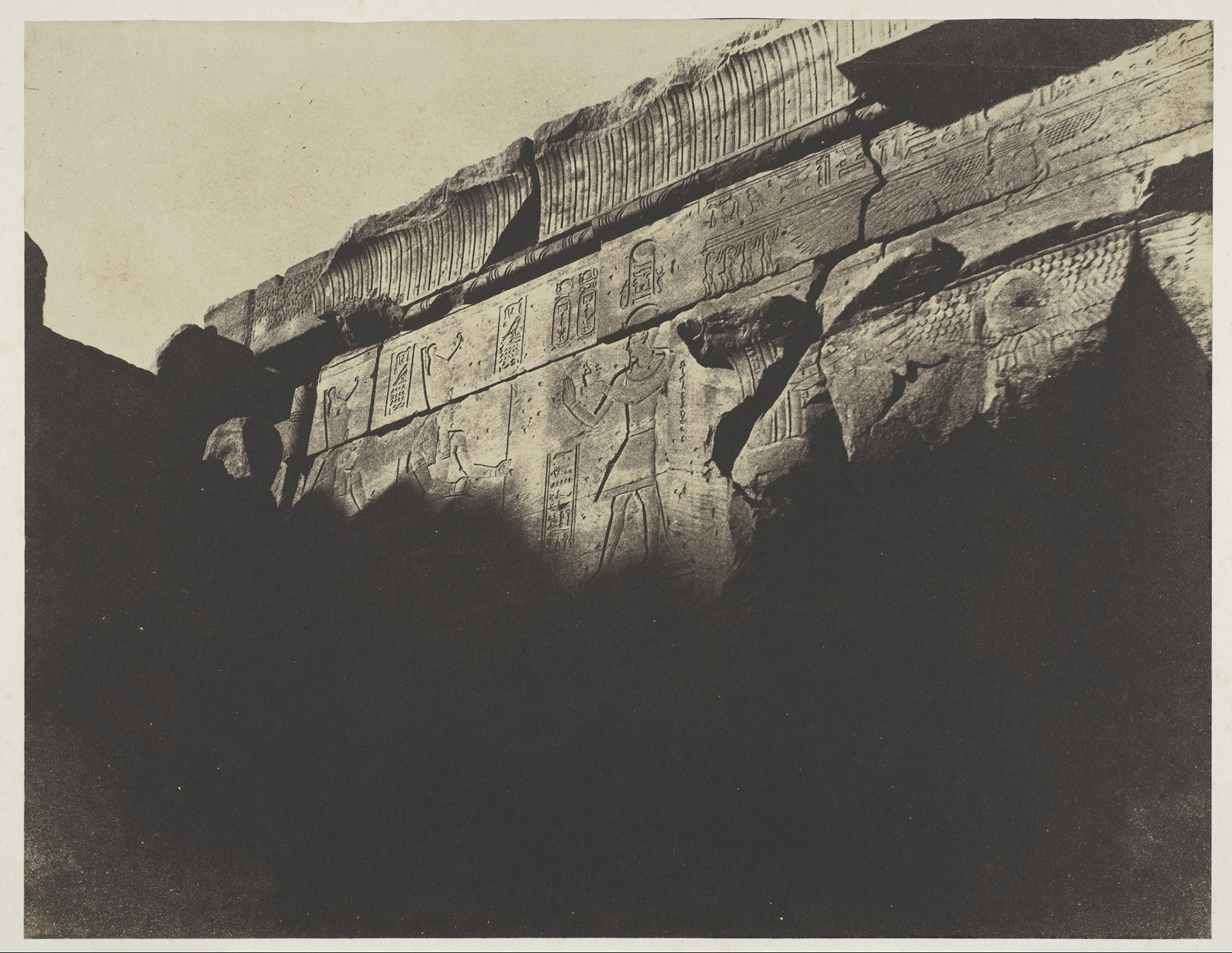 John Beasley Greene,  Dakka. Southern Chamber of the Temple, No. 6,  1854; The Metropolitan Museum of Art, New York, Gilman Collection, Purchase, Joseph M. Cohen Gift, 2005
