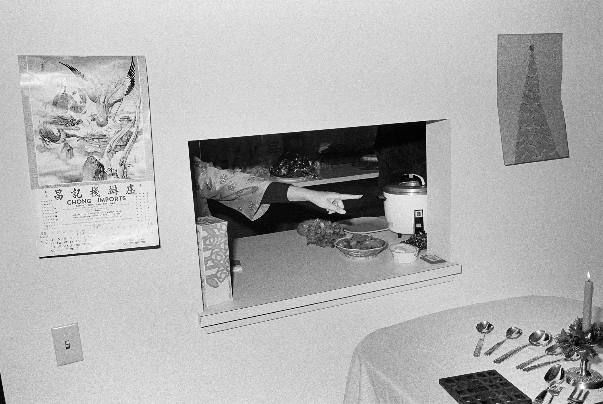 HOLIDAY PREPARATIONS, 1973 © Michael Jang
