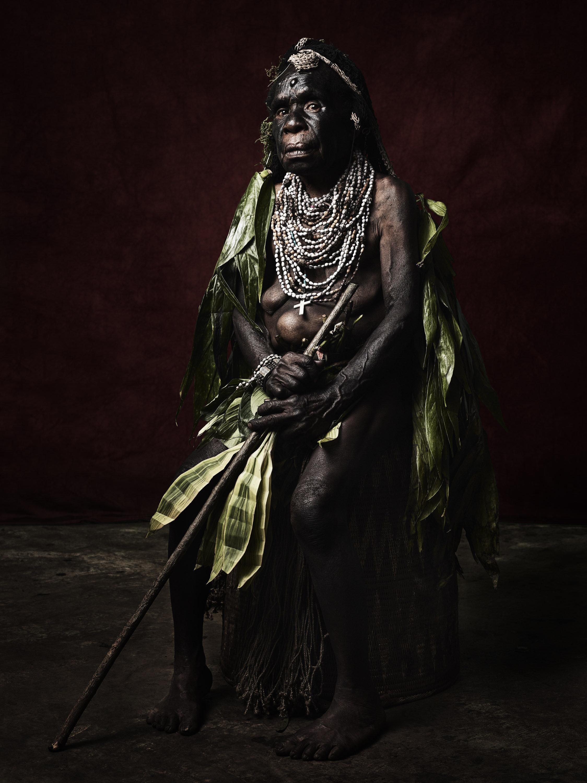 Agnes Nung of the Warawau Tribe, 2017