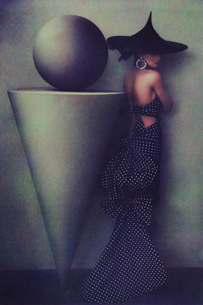 Fashion Uma Patou Dress, 1986  ©  Sheila Metzner