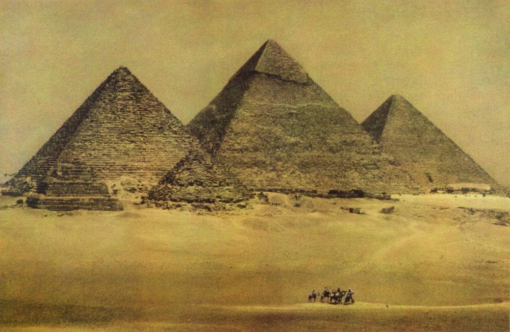 EGYPT The Pyramids, 1996  ©  Sheila Metzner