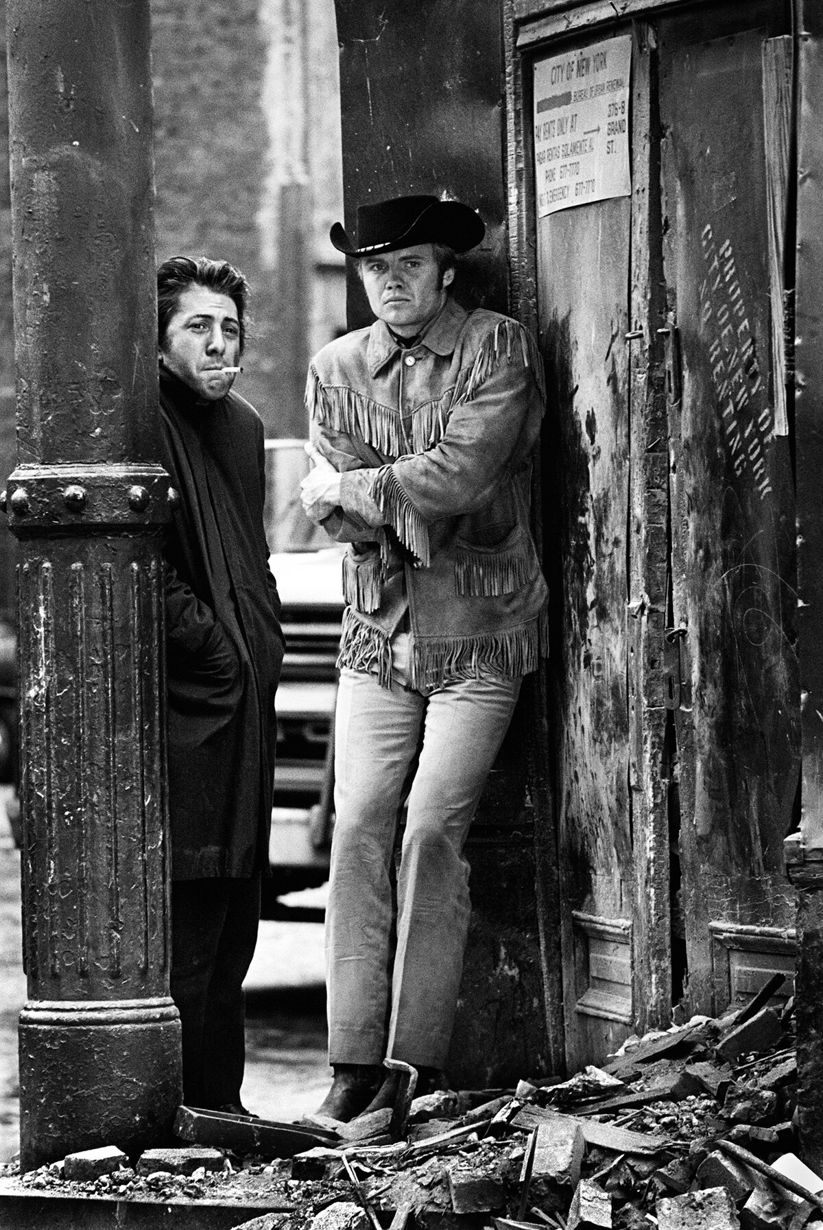 Midnight Cowboy  (1969). Courtesy of Steve Schapiro.