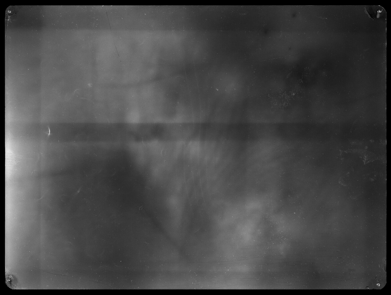 Alice Miceli,  Fragment of a Ground  I - 7.432 µSv (26.05.08 - 07.08.08)    , backlight, radiographic negative. Courtesy of the artist and Galeria Nara Roesler.