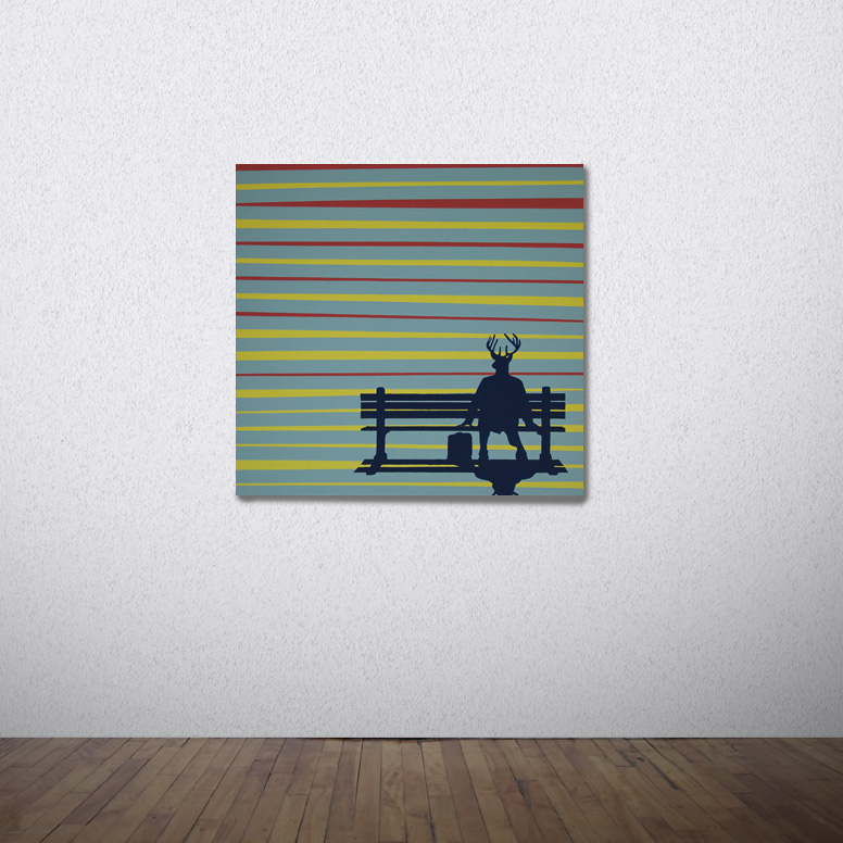 Forrest on the Run - SOLD