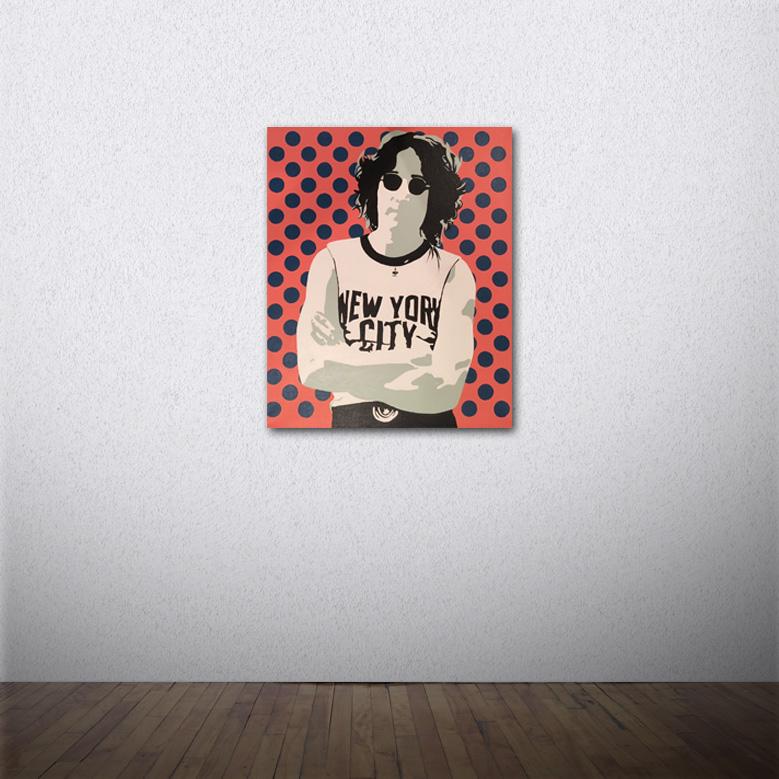 Lennon in The City