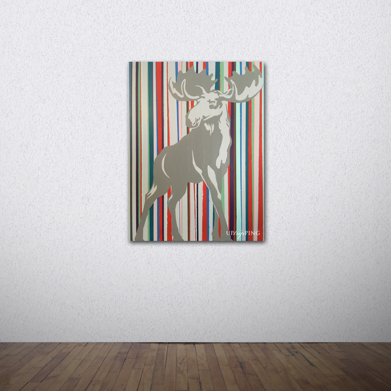 Anything But a Moose! - SOLD
