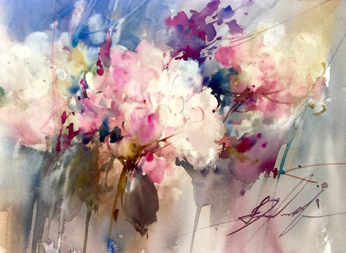 Watercolor Workshop with Fabio Cembranelli  July 26-29, 2016 Hampton Inn and Suites in Folsom, California