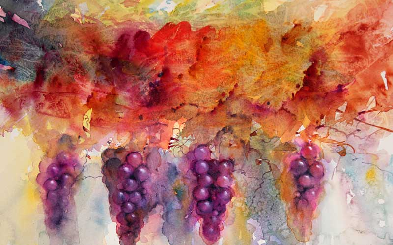 Watercolor Workshop with Jean Haines in Folsom  Two Sessions: October 17-18, 2016 or October 20-21, 2016 Hampton Inn and Suites in Folsom, California