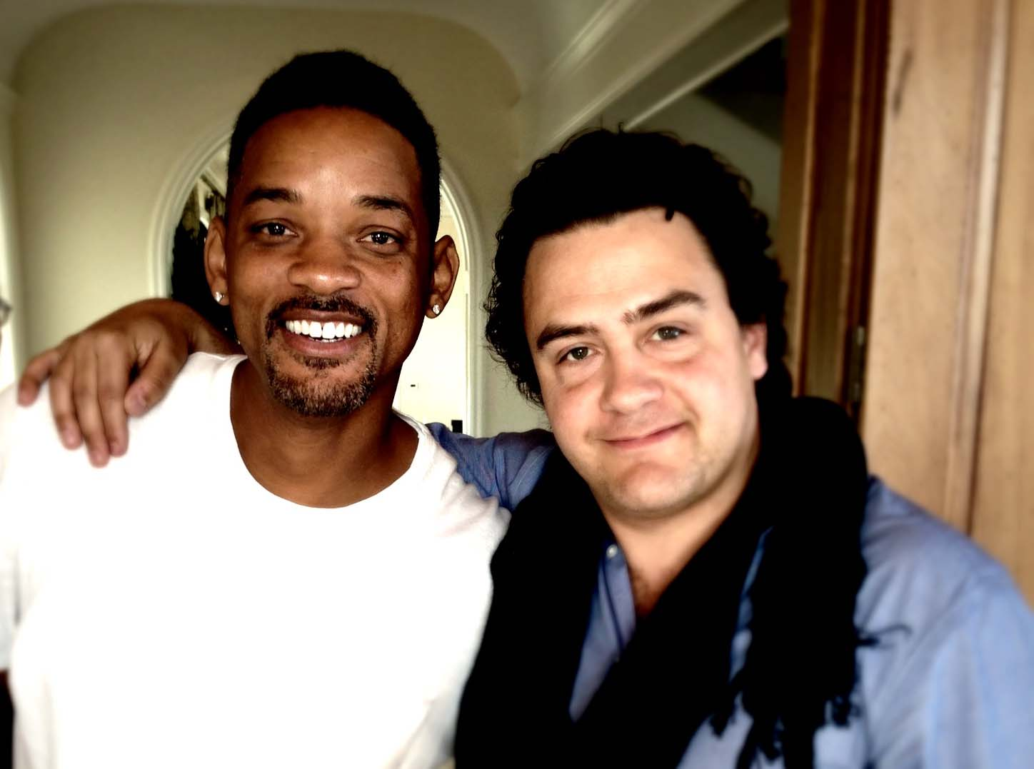 With Will Smith