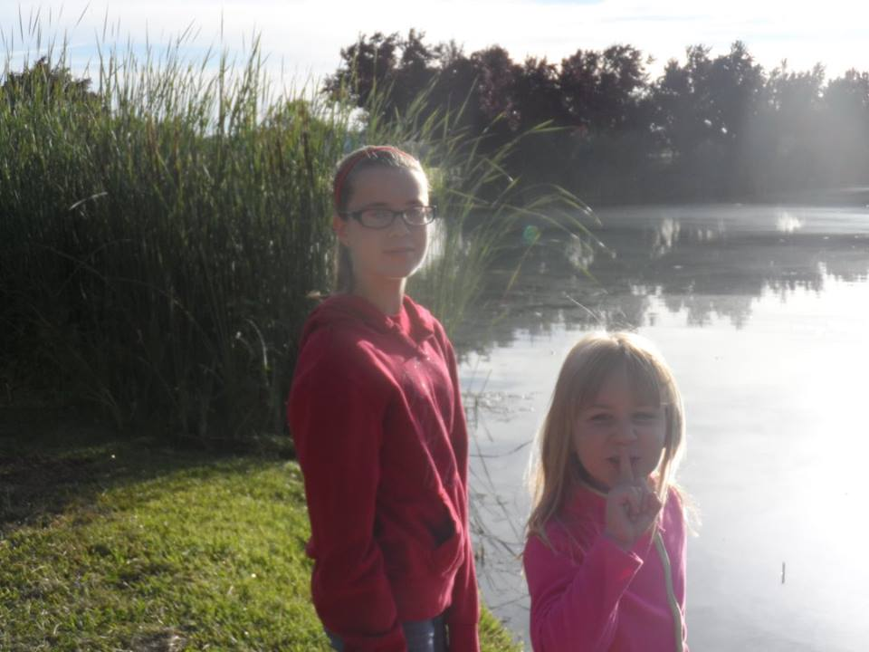 Madison and paige by the pond.jpg