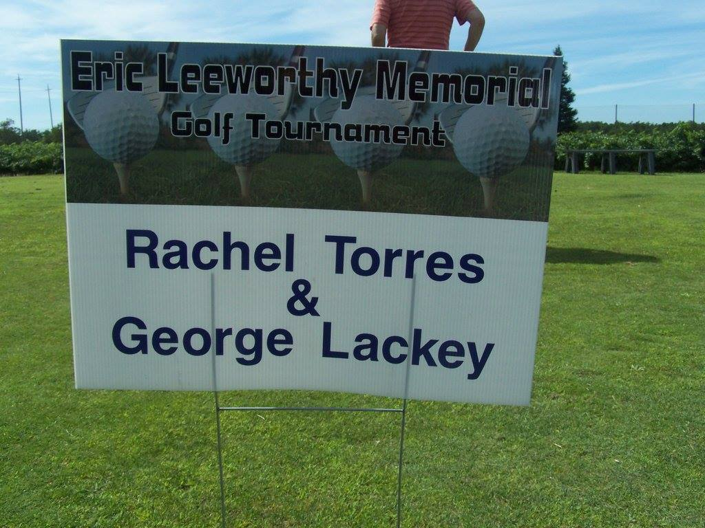 Rachel Torres and George Lackey Hole Sponsor.jpg