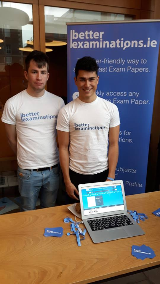 Daniel and James from team  BetterExaminations .