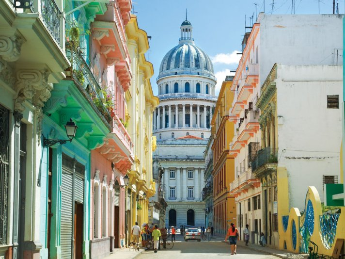 THE BEAUTY OF OLD HAVANA (PHOTO COURTESY OF: WORLD-TRAVELED.COM