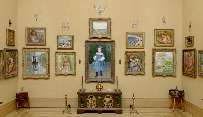 ENSEMBLE VIEW, GROUP 9 - THE BARNES FOUNDATION (PHOTO COURTESY OF THE BARNES FOUNDATION)