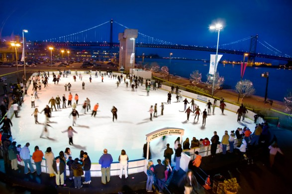 THE RIVER RINK AT PENNS LANDING