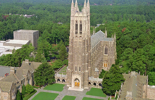 THE DUKE UNIVERSITY CHAPEL (PHOTO COURTESY OF DURHAM-NC.COM)