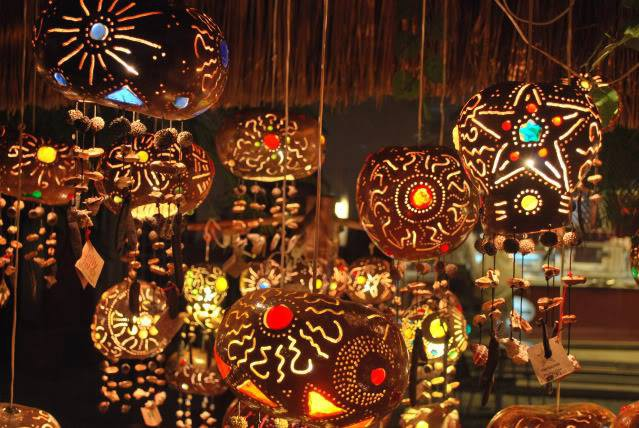 WE ABSOLUTELY LOVED THESE HANDMADE LAMPS FROM MEXICO