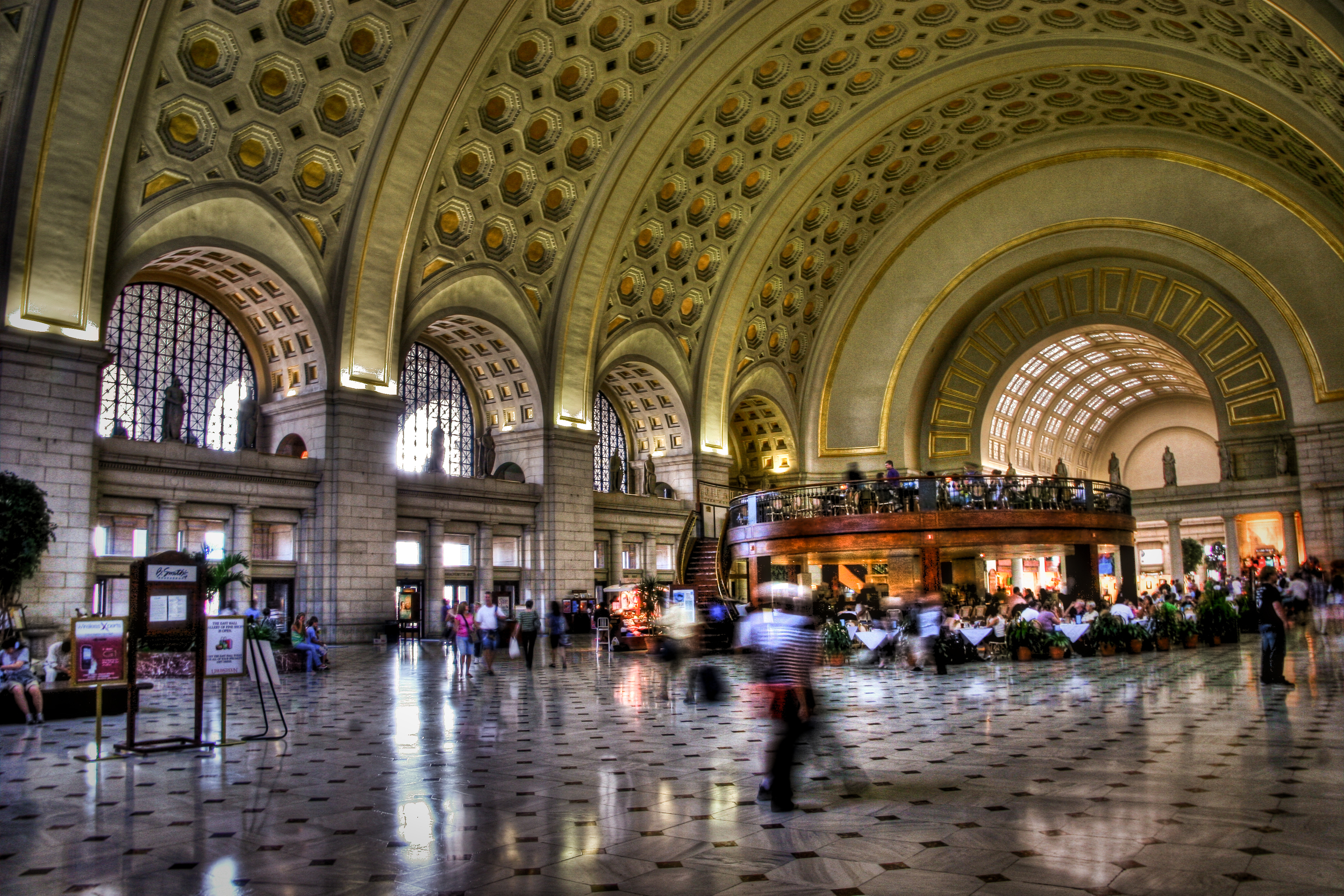 HUSTLE AND BUSTLE WITH CULTURE AT UNION STATION