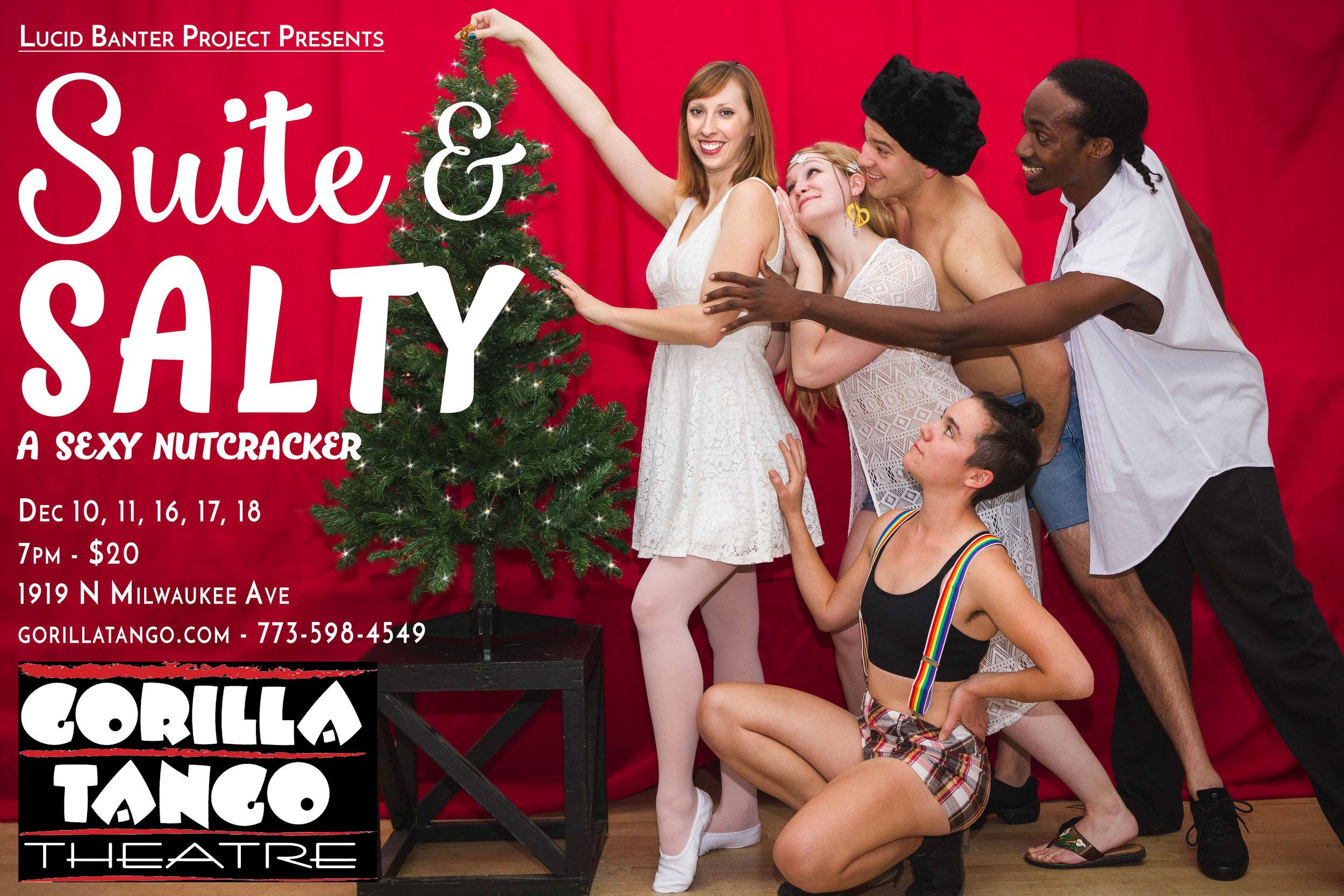 Suite & Salty: A Sexy Nutcracker   Premiered December 2016 - Gorilla Tango Theater  Photo: Josh Bartlett