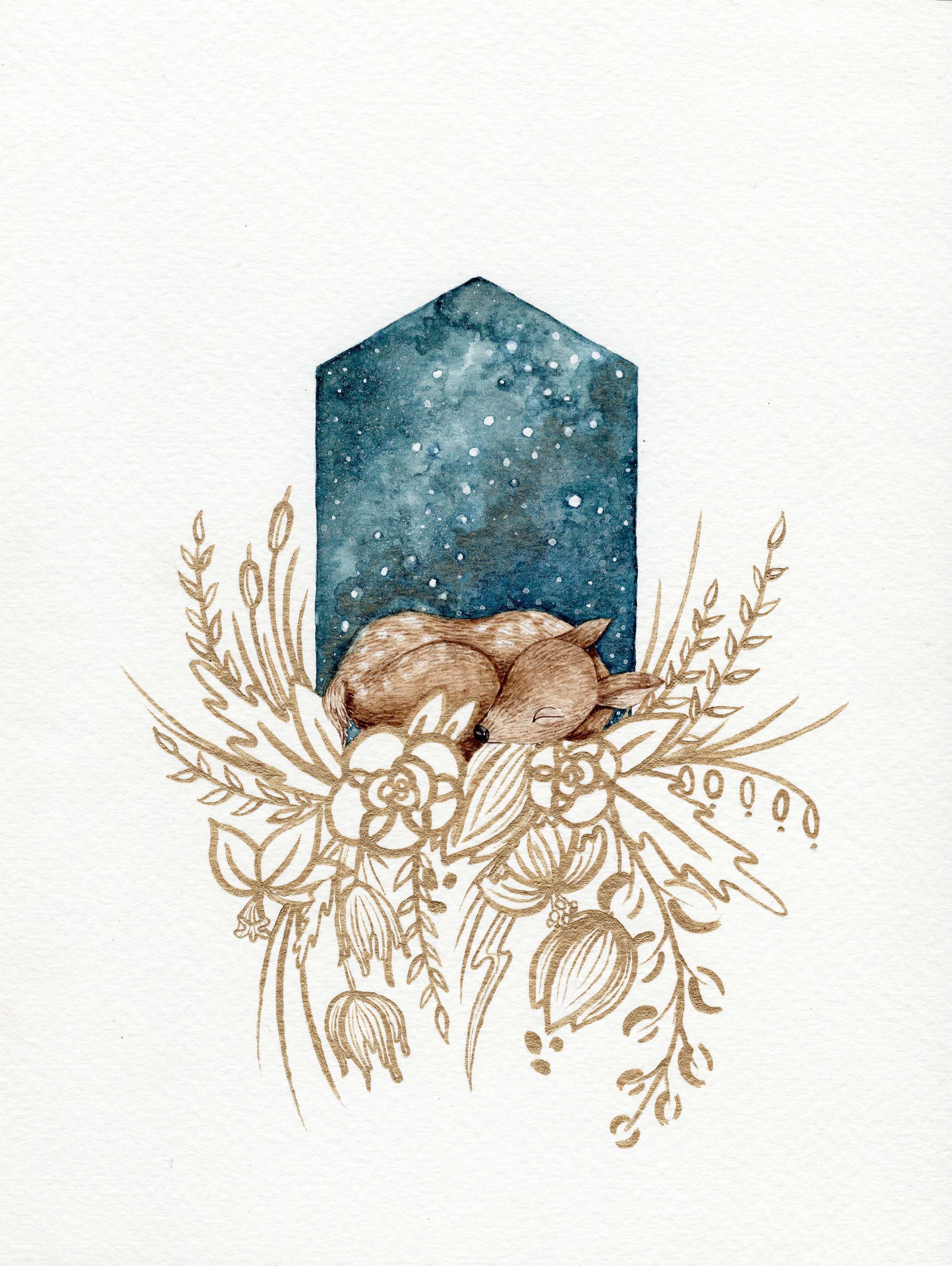 Asleep with the Stars - Deer