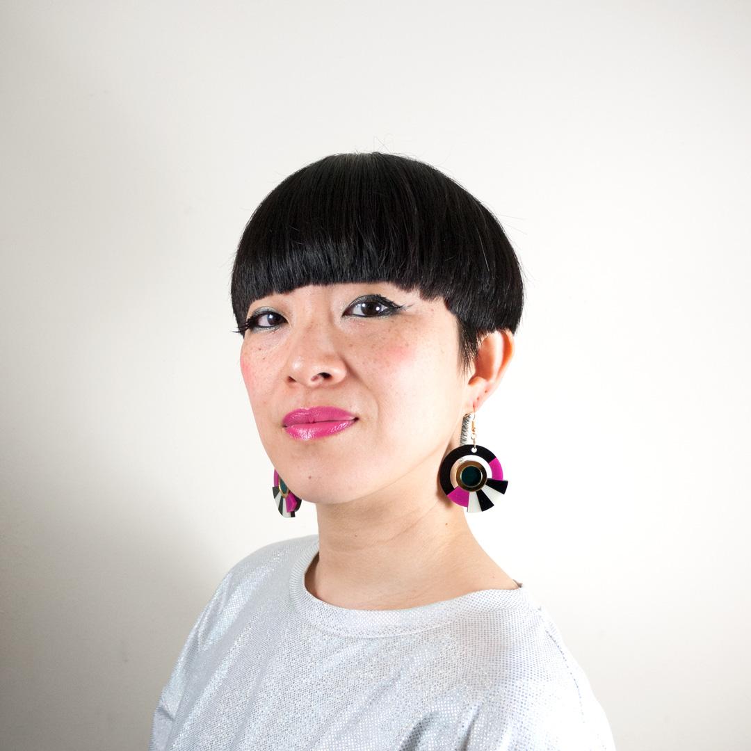 Akiko Ban, jewelry designer.