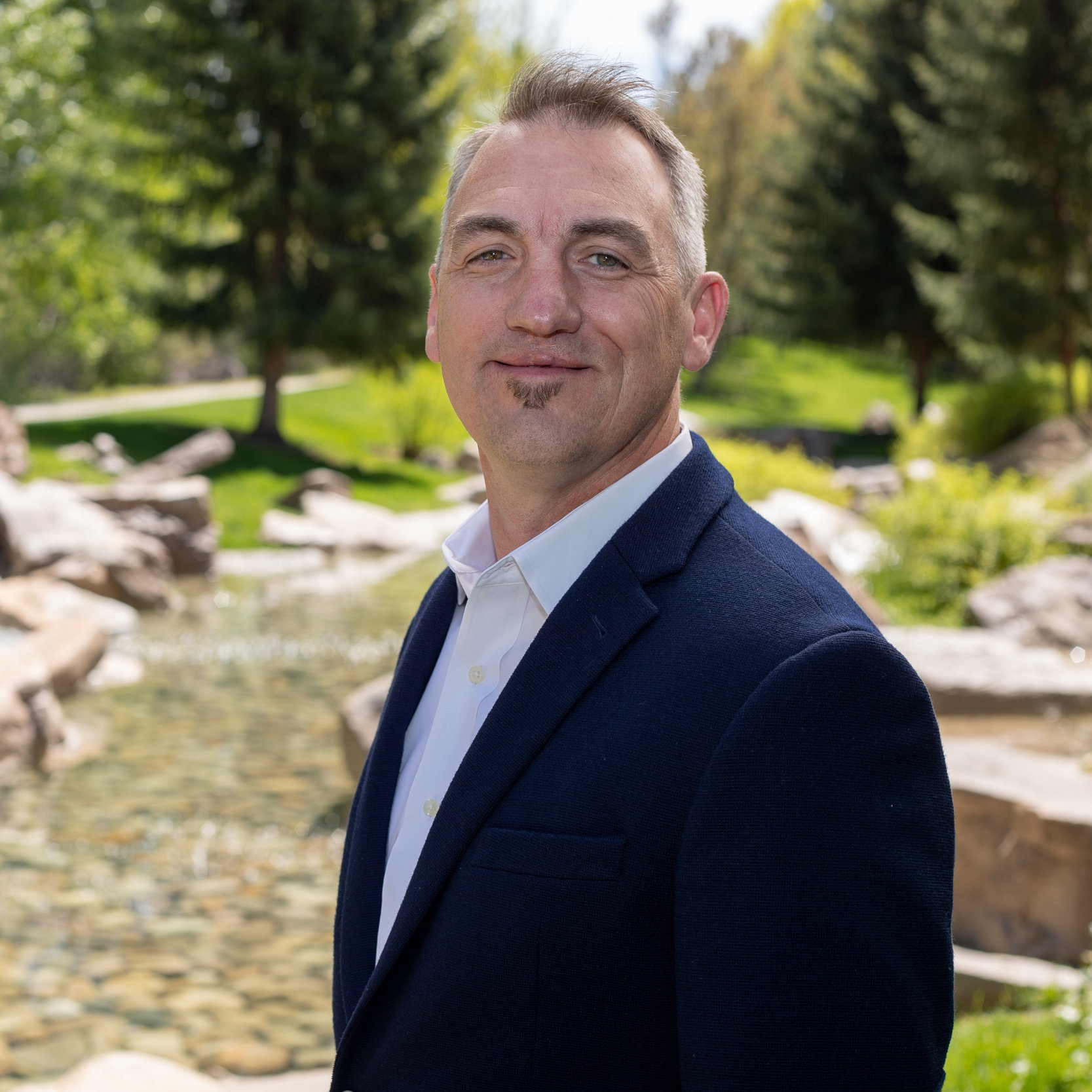Chad A. Rohr    REALTOR® with Front Porch Properties   Chad Rohr is a retired U. S. Navy Chief Petty Officer with vast experience in sales, community outreach, and talent acquisition. Chad focuses his efforts on building strong relationships within the community through positive engagement, volunteering, and shared purpose. Chad is a 2017 Team Red, White, and Blue Eagle Leader Fellow. As a volunteer leader in Mission43 and as an outdoor advocate, he hosts running, mountain biking and hiking events throughout Idaho. Chad holds a Bachelor of Arts in Organizational Management from Ashford University.