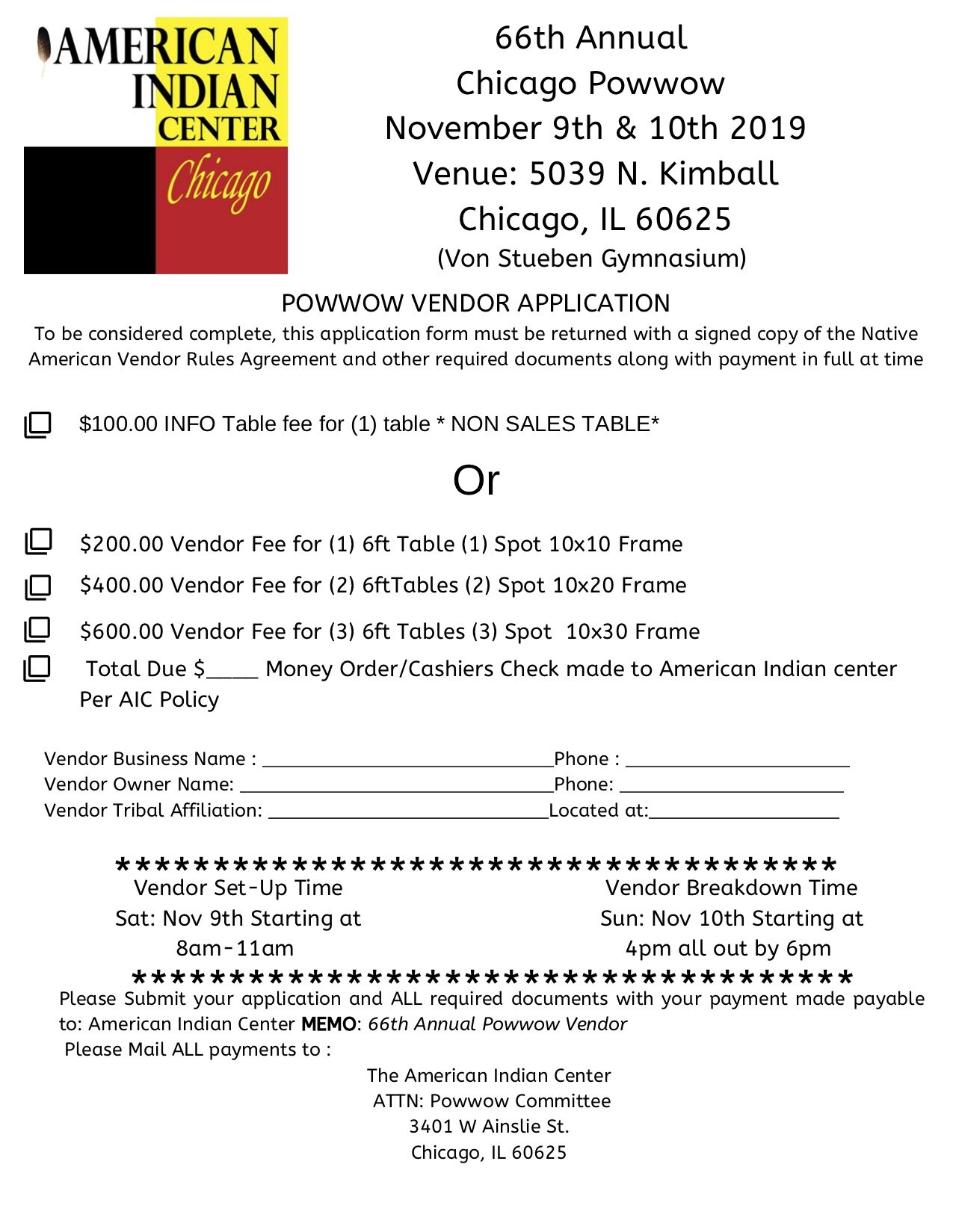 66th Annual Chicago Powwow November 9th & 10th Venue_ 3633 N California Ave (2) copy.jpg