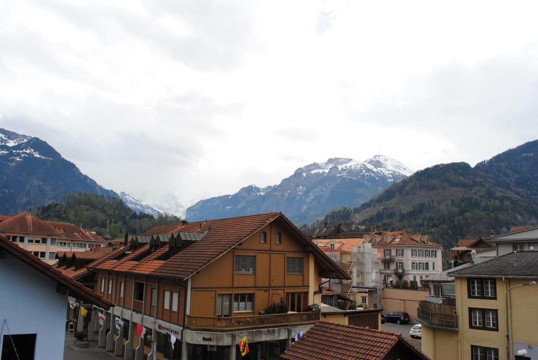 Views of Interlaken, Switzerland from Hotel Roessli