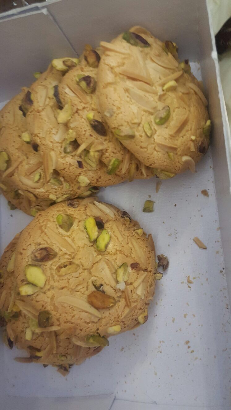 Some delicious cookies we had before we left Tabriz