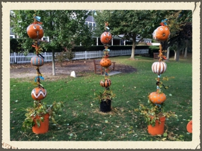 Fun little pumpkin display in Chatham
