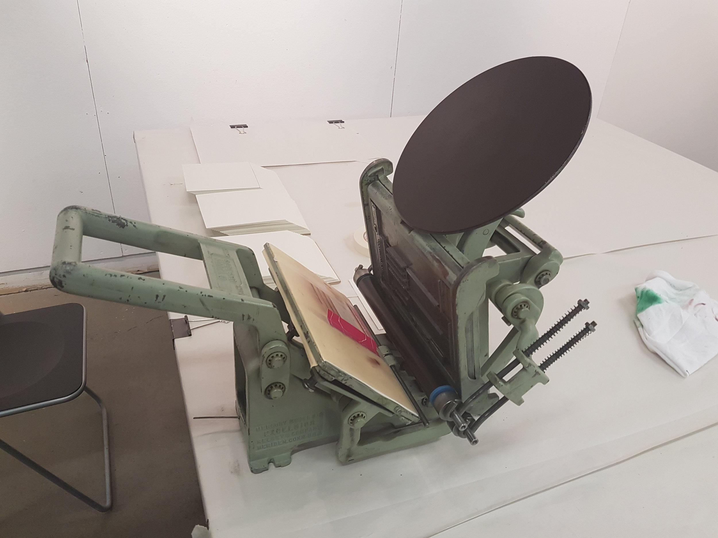 Hand Letter Press