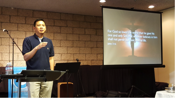 Pastor Andy Kuo came on board in March 2016