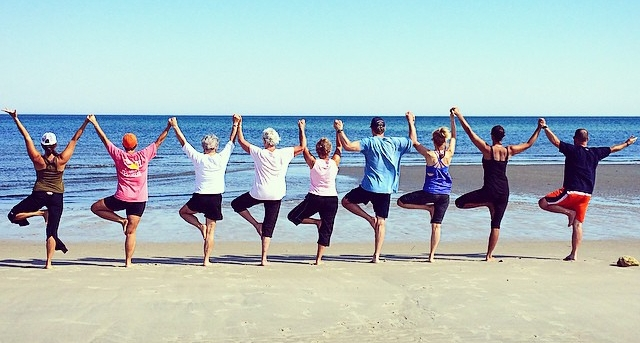 Share the practice of yoga with your family and friends! A wonderful addition to any celebration, this practice will unite, support and encourage a loving + peaceful time spent together. Not to mention, create memories that will last a lifetime! This photo is of my family during our family reunion, August 2016.