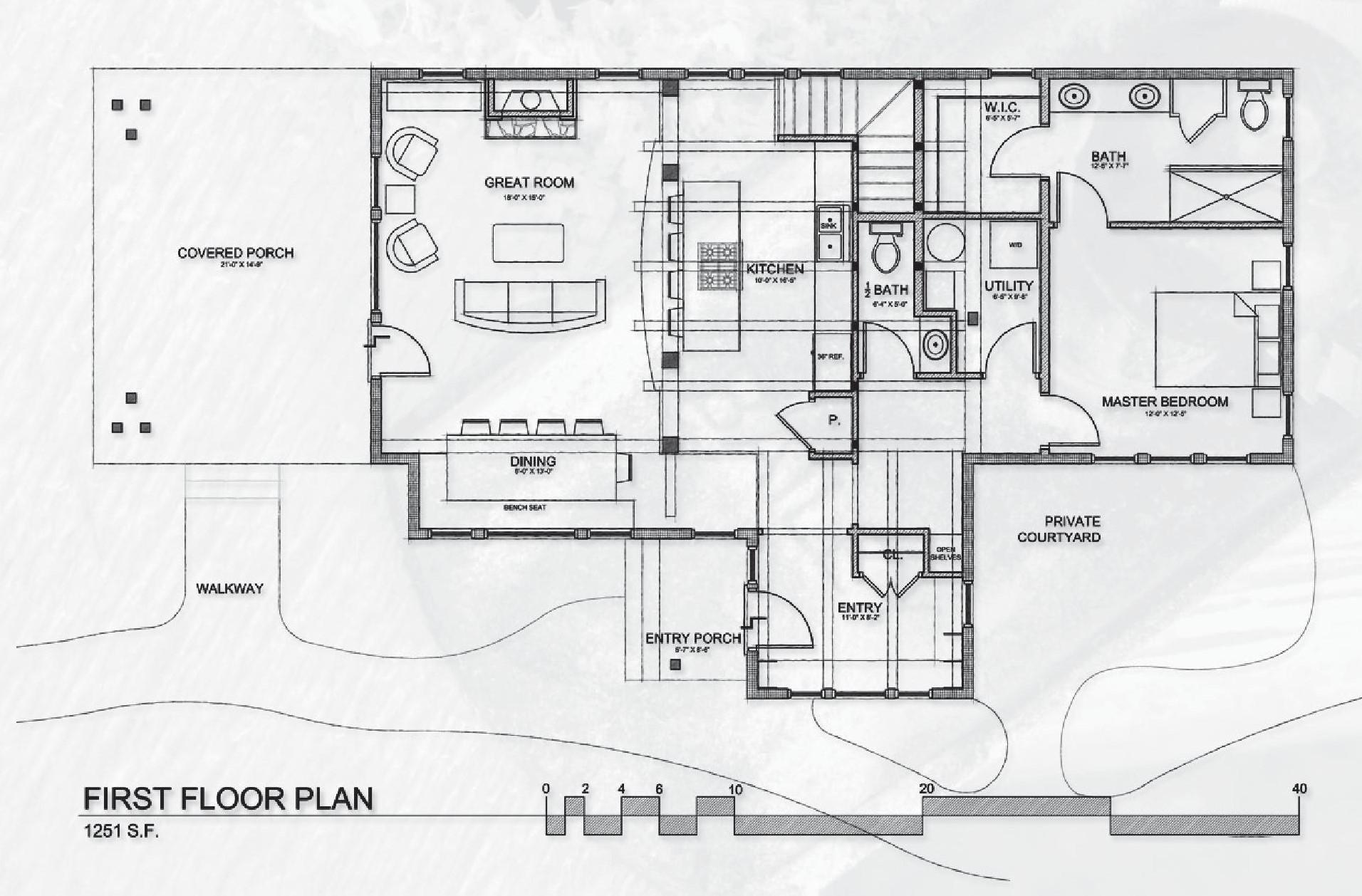 Cabin with garage Floorplan 1st floor.jpg