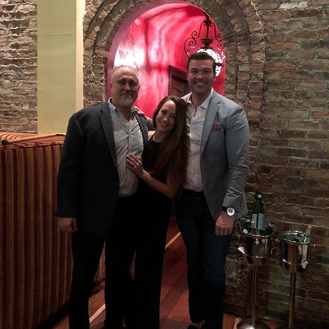 Dr Jon Stephanie and fiancé John in jersey city #simplychirobernardsville