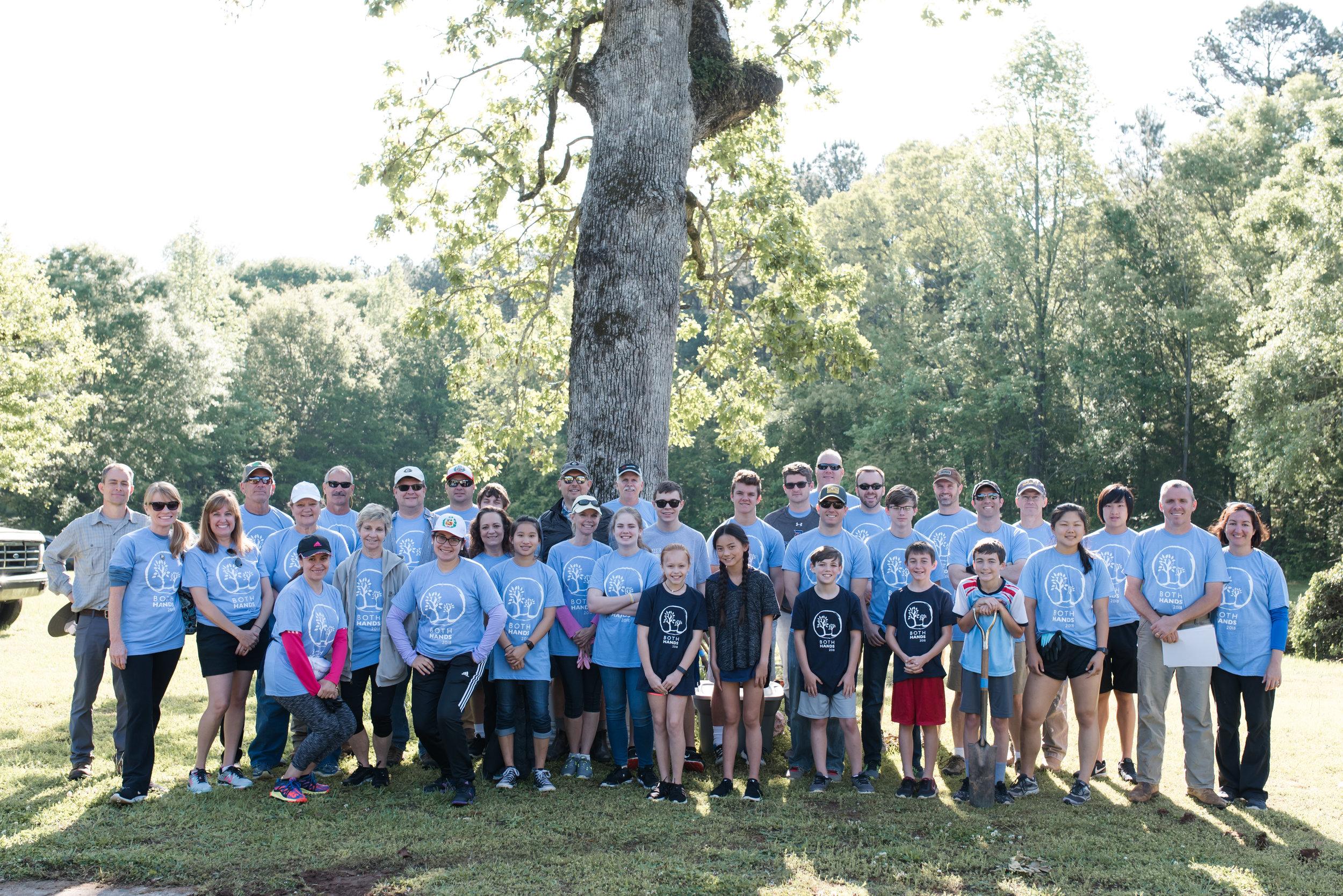 Project Number 4 - Volunteer teams from Redeemer Presbyterian Church and Watkinsville First Baptist Church!