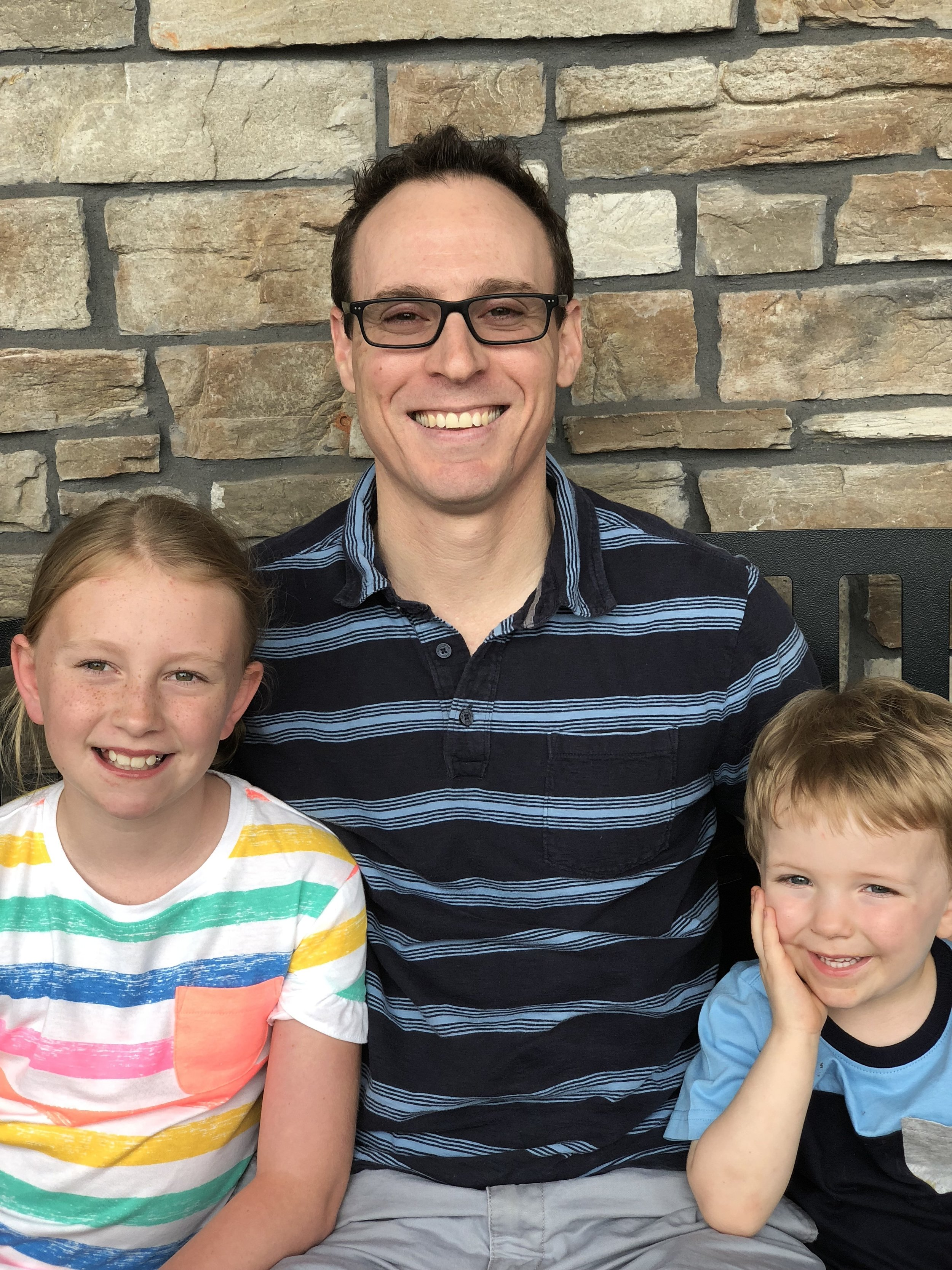 Caleb Brown, Adoptive Dad  I am a foster parent and adopted two children (sibling group) from foster care. I have a passion for helping people and love kids.