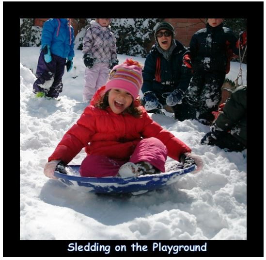 sledding on the playground.JPG