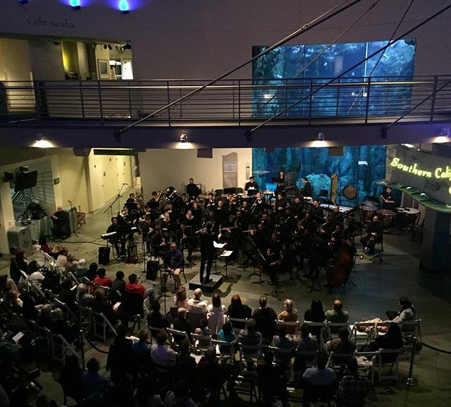 We expected last night to be special, and it was more than we could have ever imagined. Nearly 300 people came to the @aquariumpacific to support our music, our purpose and our message, and we can't thank everyone enough for their tremendous support. It is our hope that our program was able to shed light on an issue that is very real and detrimental to all life on #Earth. Stay informed. Don't be silent. Take action. The Earth needs you. The Earth needs us. Do it for this #PaleBlueDot, the only #home we've ever known. 🌎 ________________________________ #climatechangeisreal #ThisIsLB #Brass #Woodwind #AquariumofthePacific #ConcertOfHope #LBMusic #LongBeach #TrueBrass #SoCalMusic #SoCal #Community