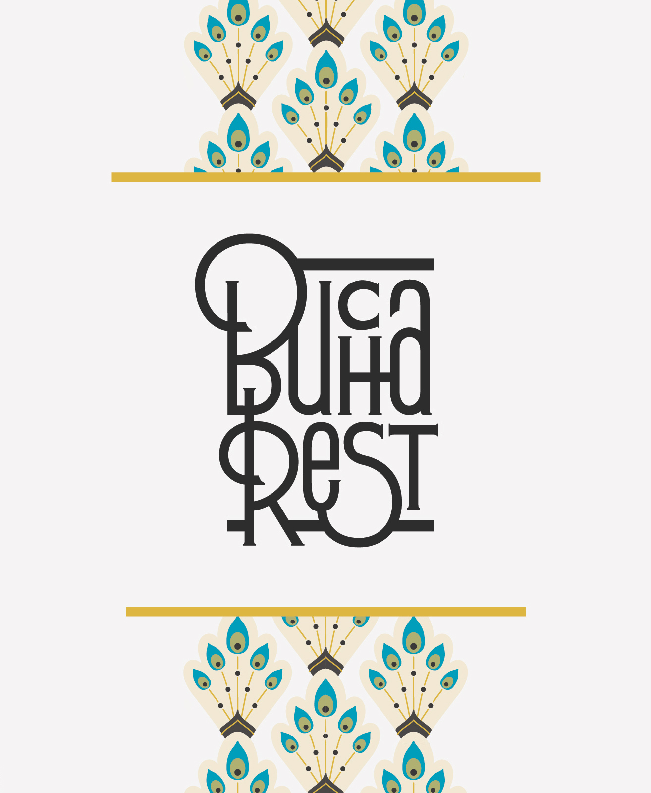 Bucharest's New Logo with Visual Theme