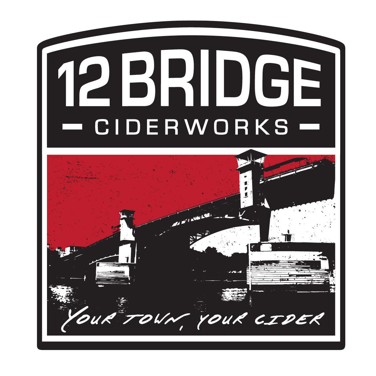 12 Bridge Patch Logo