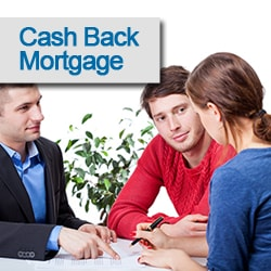 cash back mortgage for down payment
