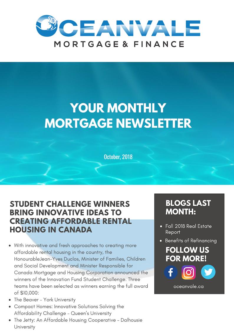 October 2018 Newsletter - 1
