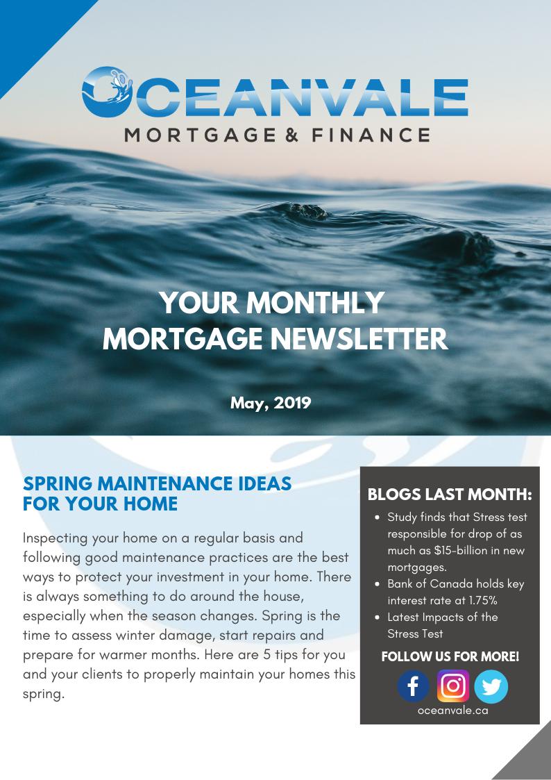 Oceanvale Newsletter - May 2019_1