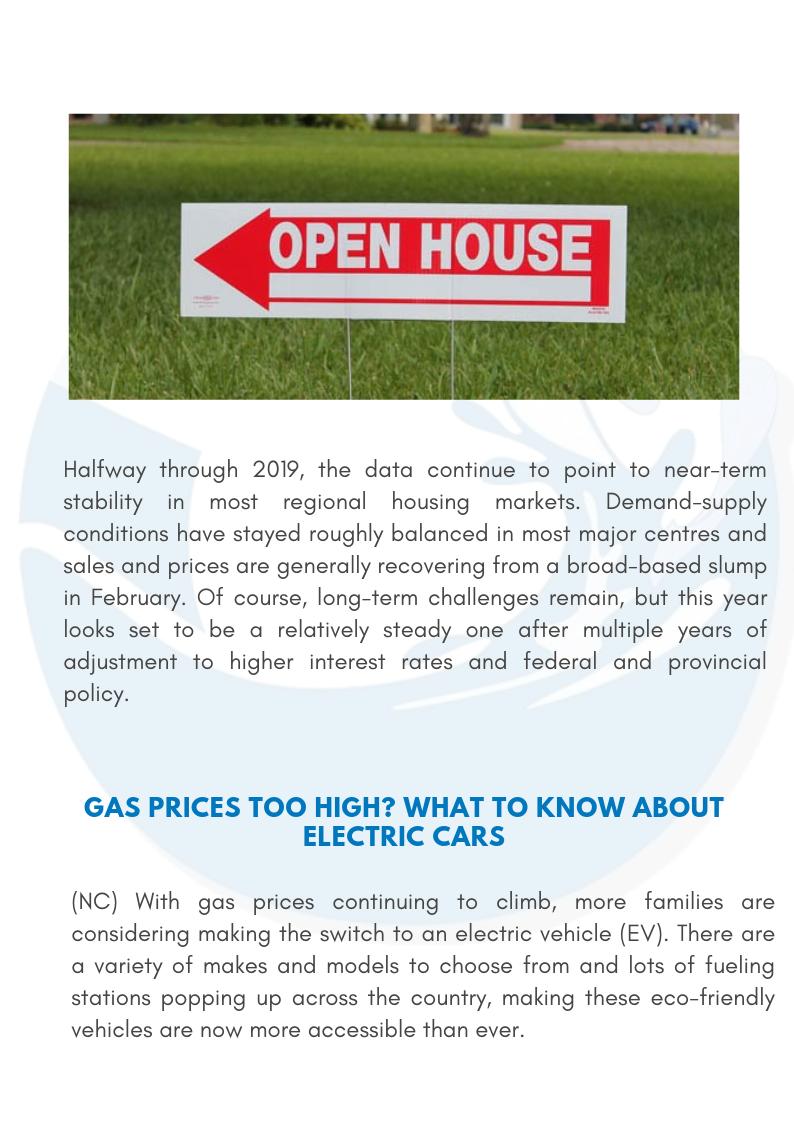 Oceanvale Newsletter - August 2019