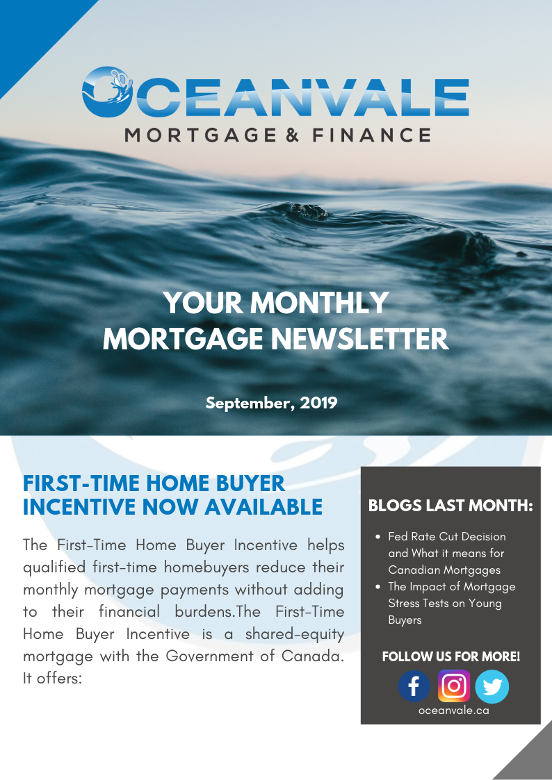 Oceanvale September 2019 Newsletter