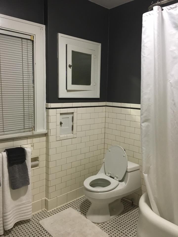 After image of the original bathroom