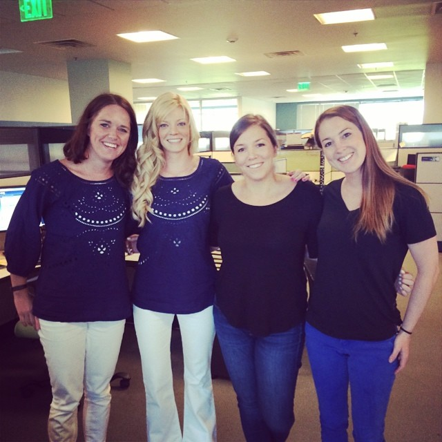 Accidental twin day on the planning team